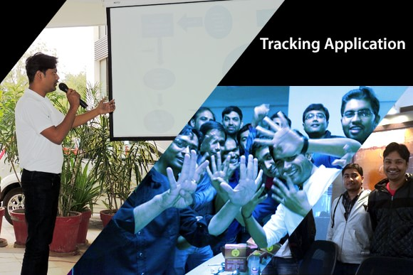 The Tracking Application helps you locate courier guy and vice versa