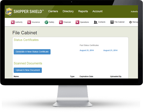 Shipper Shield