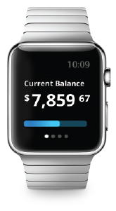 Apple Watch with Banking