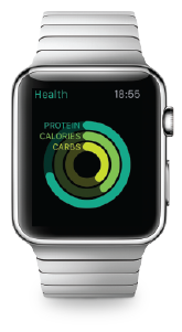 Apple Watch with Health Update