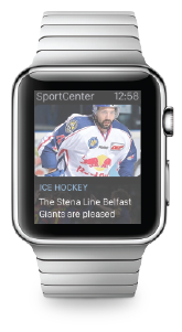 Apple Watch with Sport Update