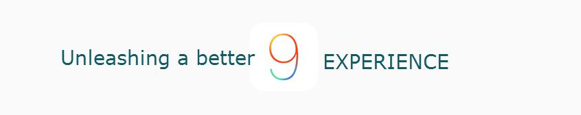 iOS 9 Experience