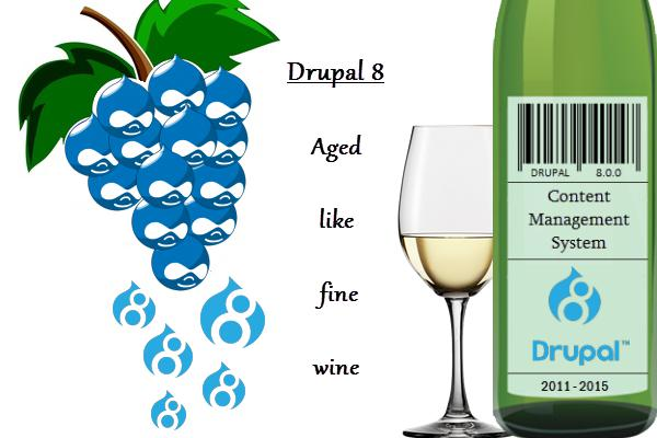 Drupal 8 – The content management system that's aged like fine wine