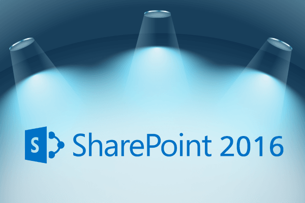 Advanced features of SharePoint Server 2016
