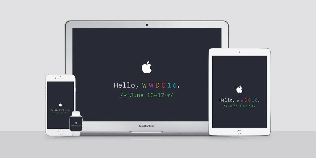 Apple's annual worldwide developer's conference 2016 has begun!