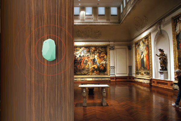 Bring museums to life with location-based beacon technology