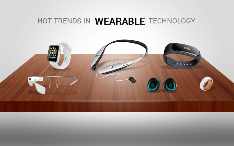 Hot trends in wearable technology: then and now
