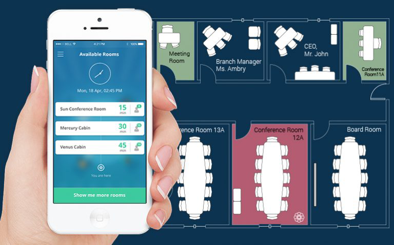 smart room booking system
