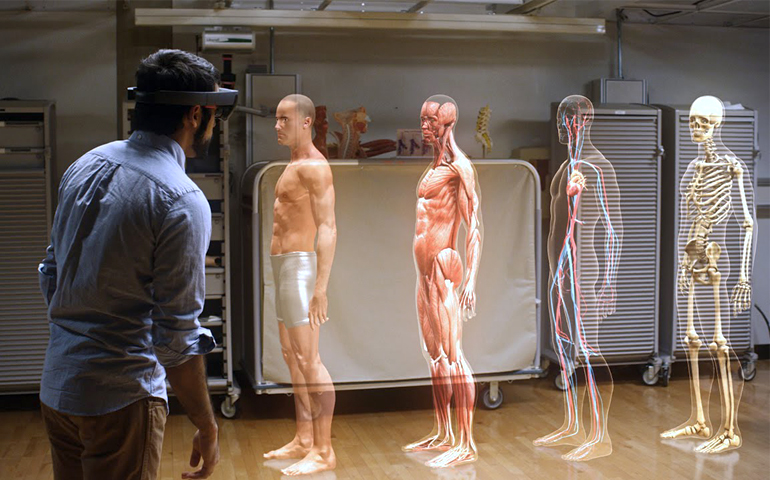 How Microsoft Hololens Apps will transform Healthcare Industry