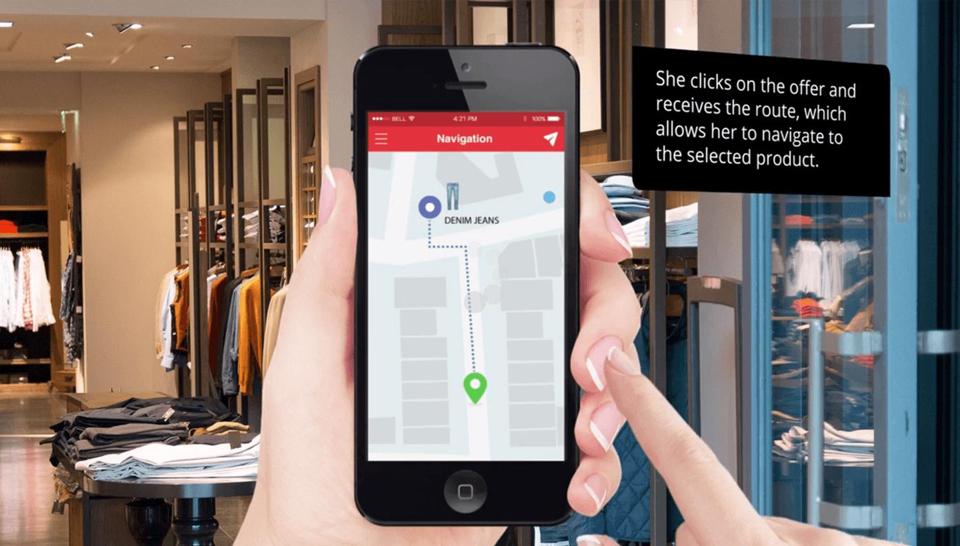 Indoor Navigation System, Indoor Navigation App by Smart Retail