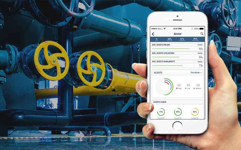 Asset Monitoring Solutions for Manufacturing & Healthcare Industry