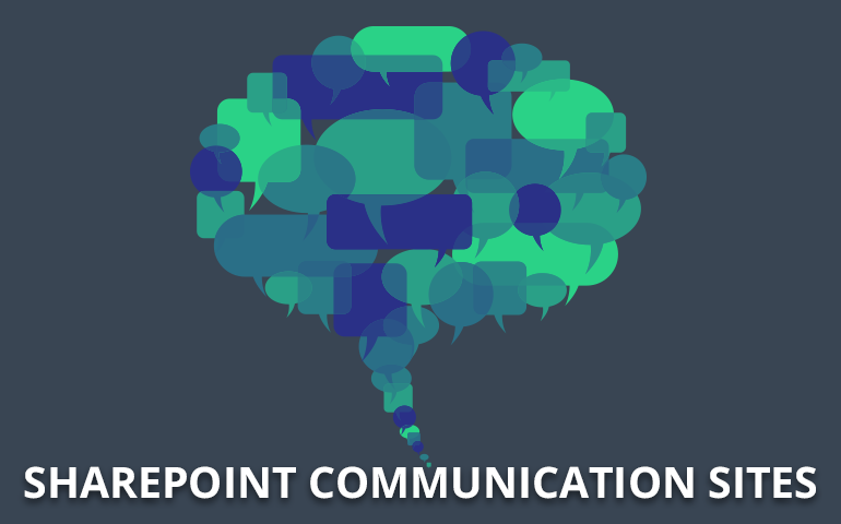 Sharepoint Communication Sites to Office 365