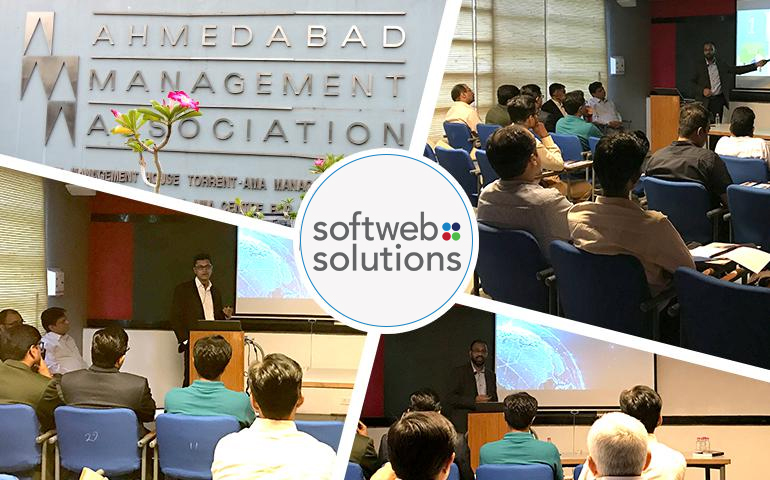 Raising awareness of AI & IoT to businesses in Ahmedabad