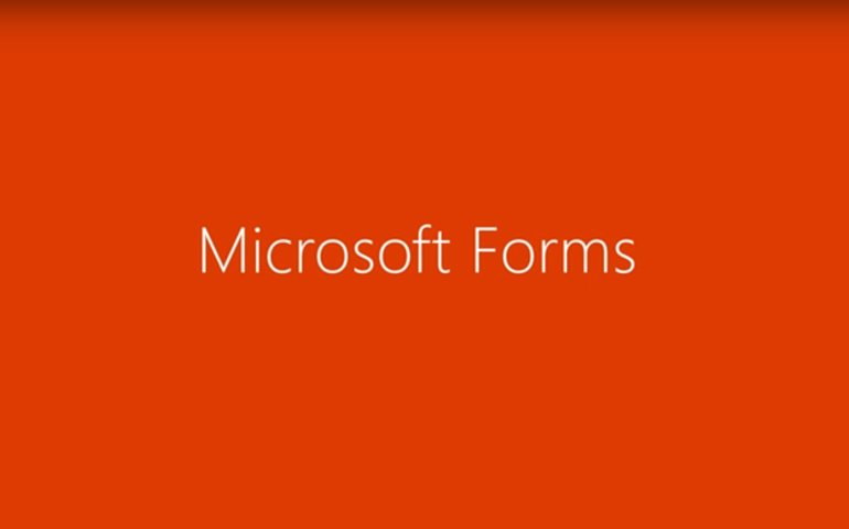 Integration of Microsoft Forms with Office 365 for businesses
