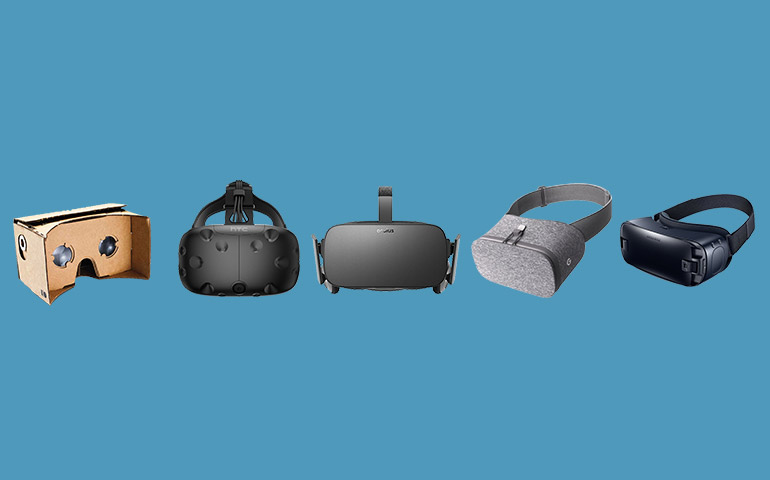 Develop applications for various VR Devices
