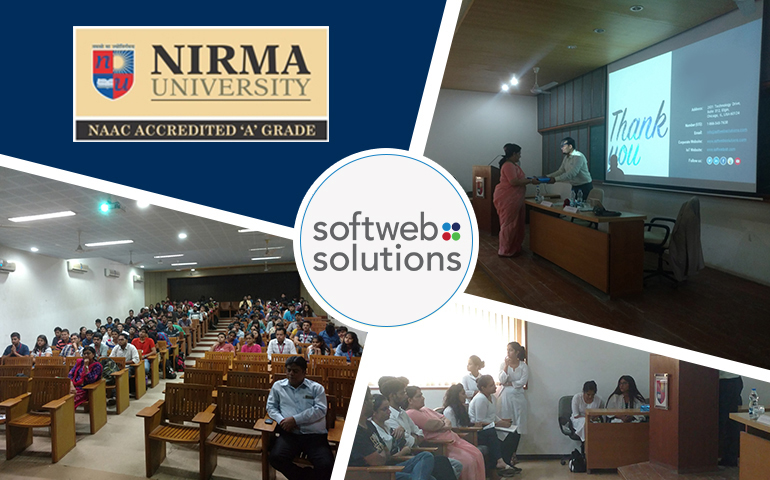IoT and AI in the curriculum – An interactive session at Nirma University
