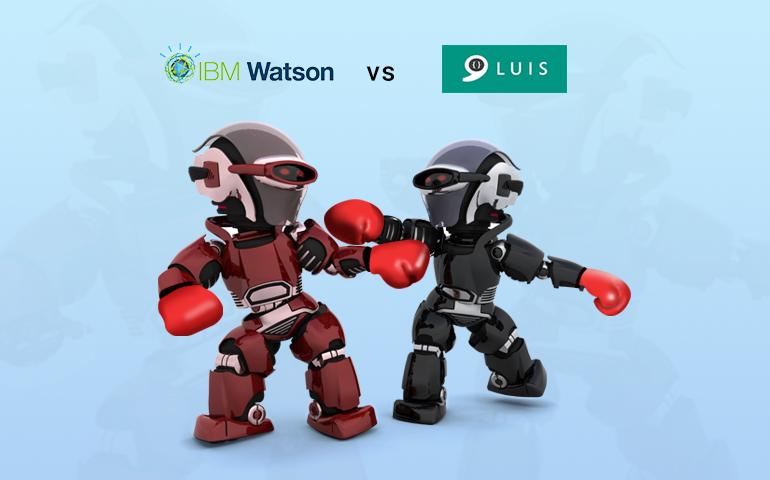 The battle of bot frameworks: IBM Watson's Conversation Service vs. Microsoft's LUIS