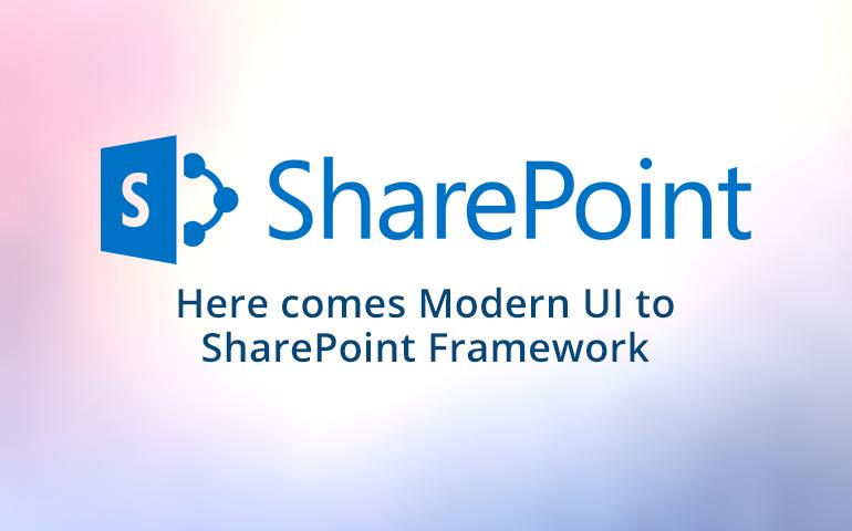 SharePoint Framework Development for easy Customization