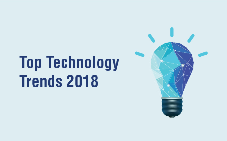 5 Trends that will Rejuvenate the Tech Industry in 2018
