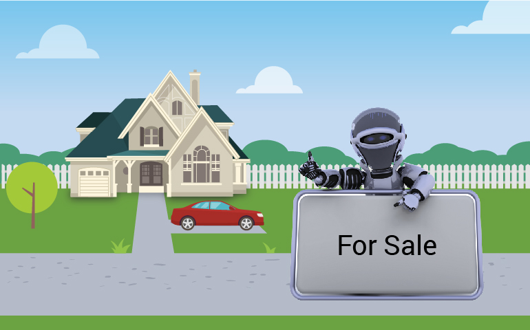 chat bot for real estate