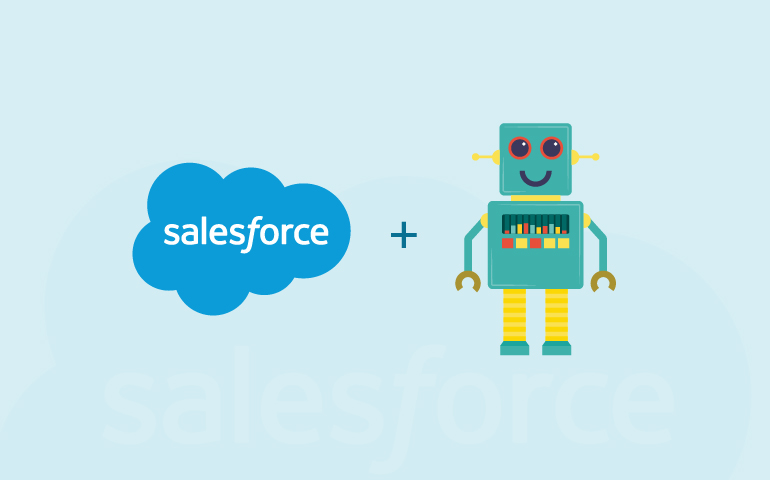 how chatbot integration with salesforce helps business to generate better RoI?
