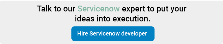 servicenow migration