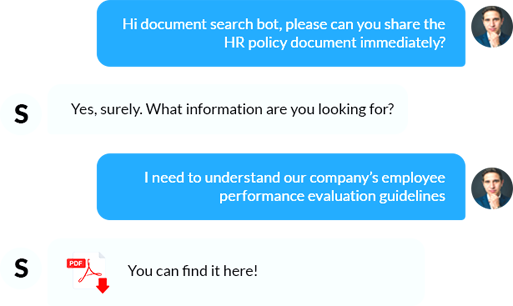Get your HR policy document anytime, anywhere.