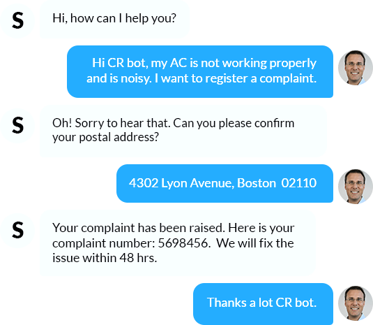 Handle complaints and requests