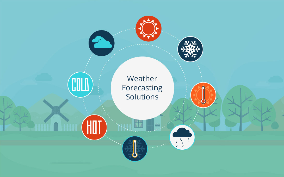 AI-driven weather forecasting solutions