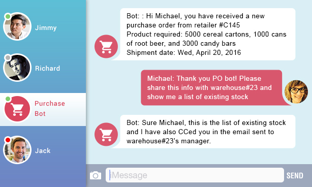 Bots supply chain