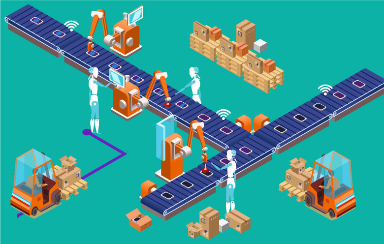 How AI facilitates smart manufacturing.