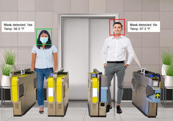Human body temperature screening solution