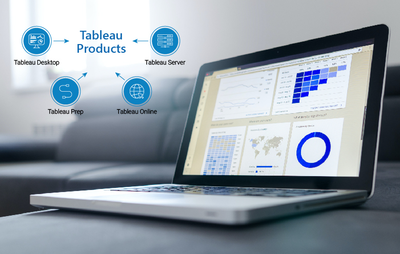 Tableau integration with data