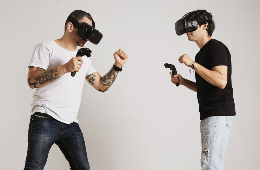 VR headset-based app
