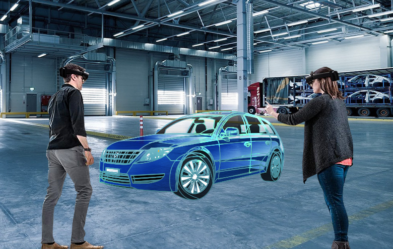 Mixed reality in automotive industry