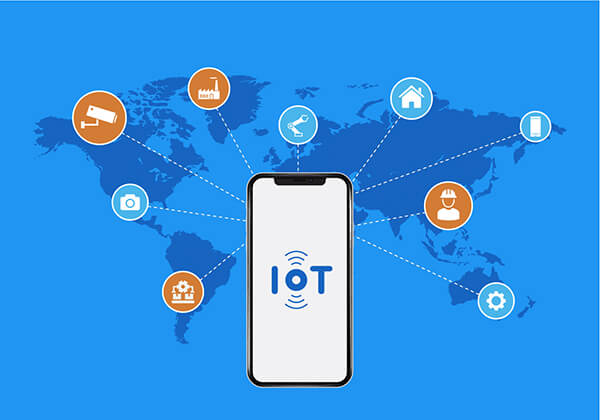 Integration of mobile app in IoT