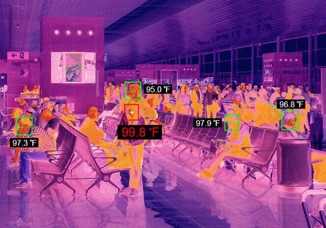 Thermal image analysis