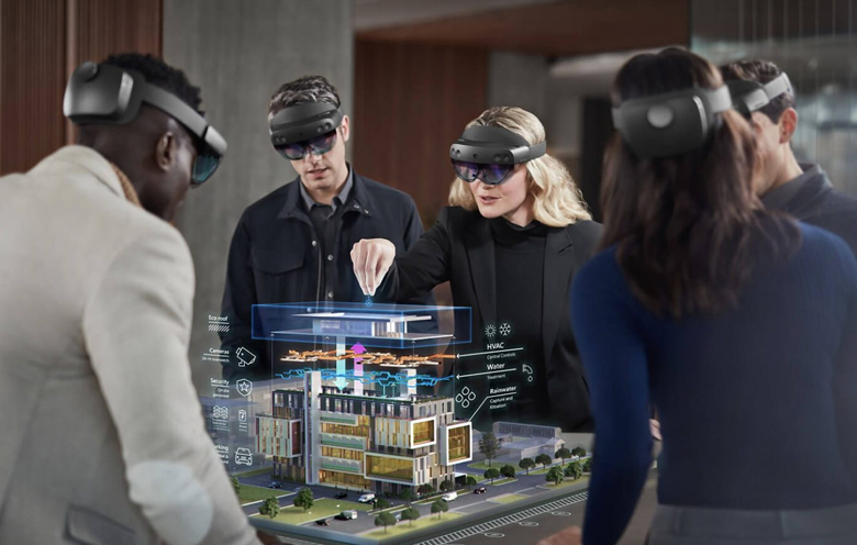 Mixed reality in commercial Property management
